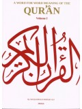 A word for Word Meaning of the Quran (3 vol set)