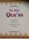 The Holy Quran Arabic-English and Transliteration