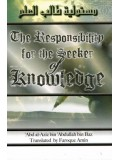 The Responsibility of the Seeker of Knowledge PB