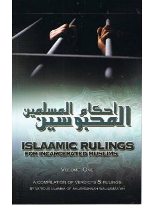 Islamic Rulings for Incarcerated Muslims PB