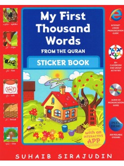 My First Thousand Words From The Quran Sticker Book with CD