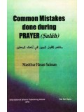 Common Mistakes Done During Prayer